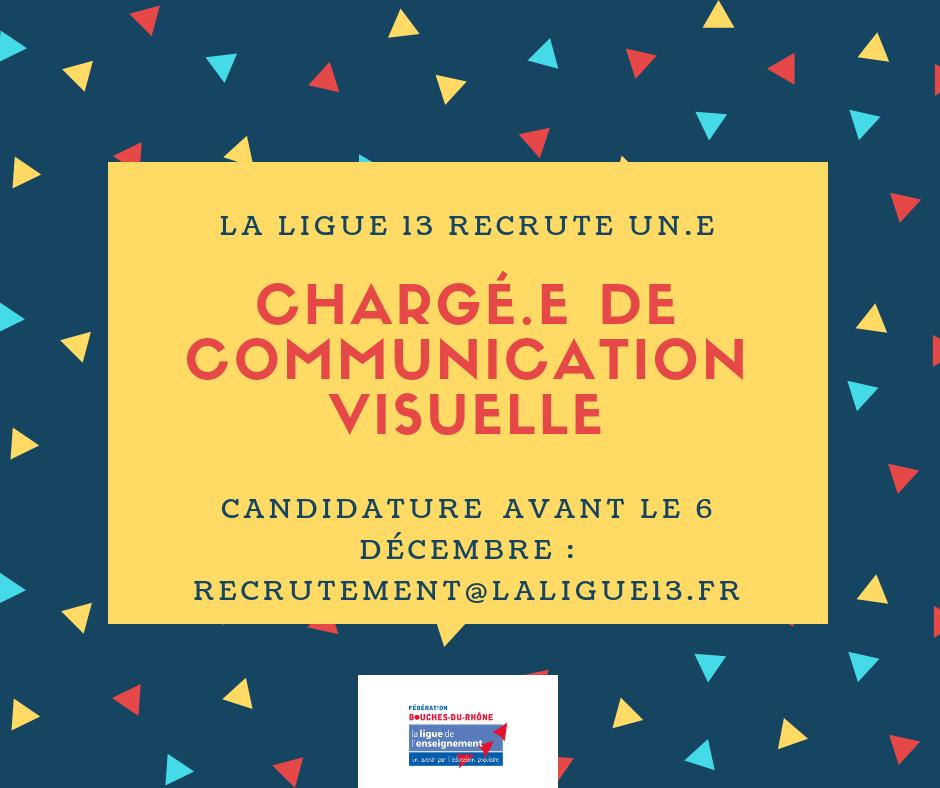 La Ligue 13 recrute un.e chargé.e de communication visuelle