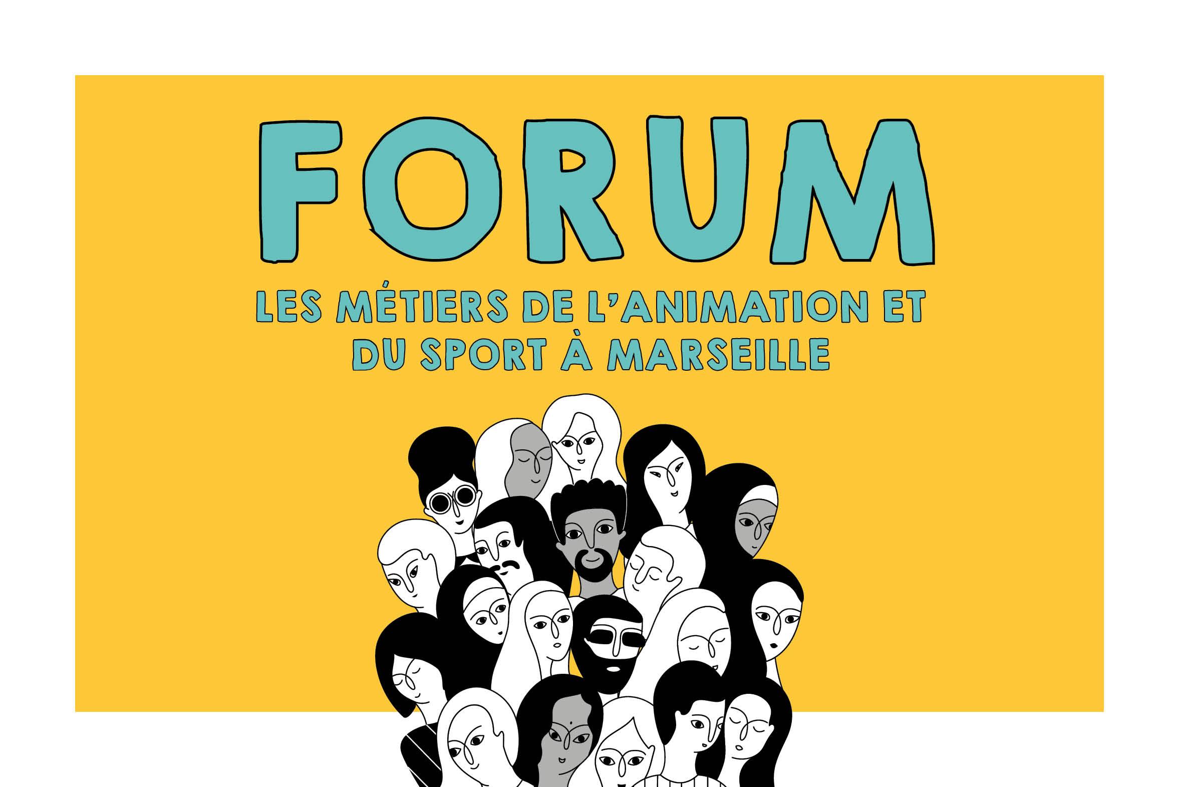 Forum à Marseille : les formations et les métiers de l'animation et du sport