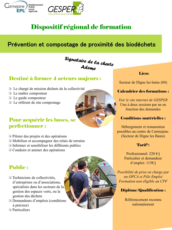 Se former en gestion de proximité des biodéchets - les métiers de demain