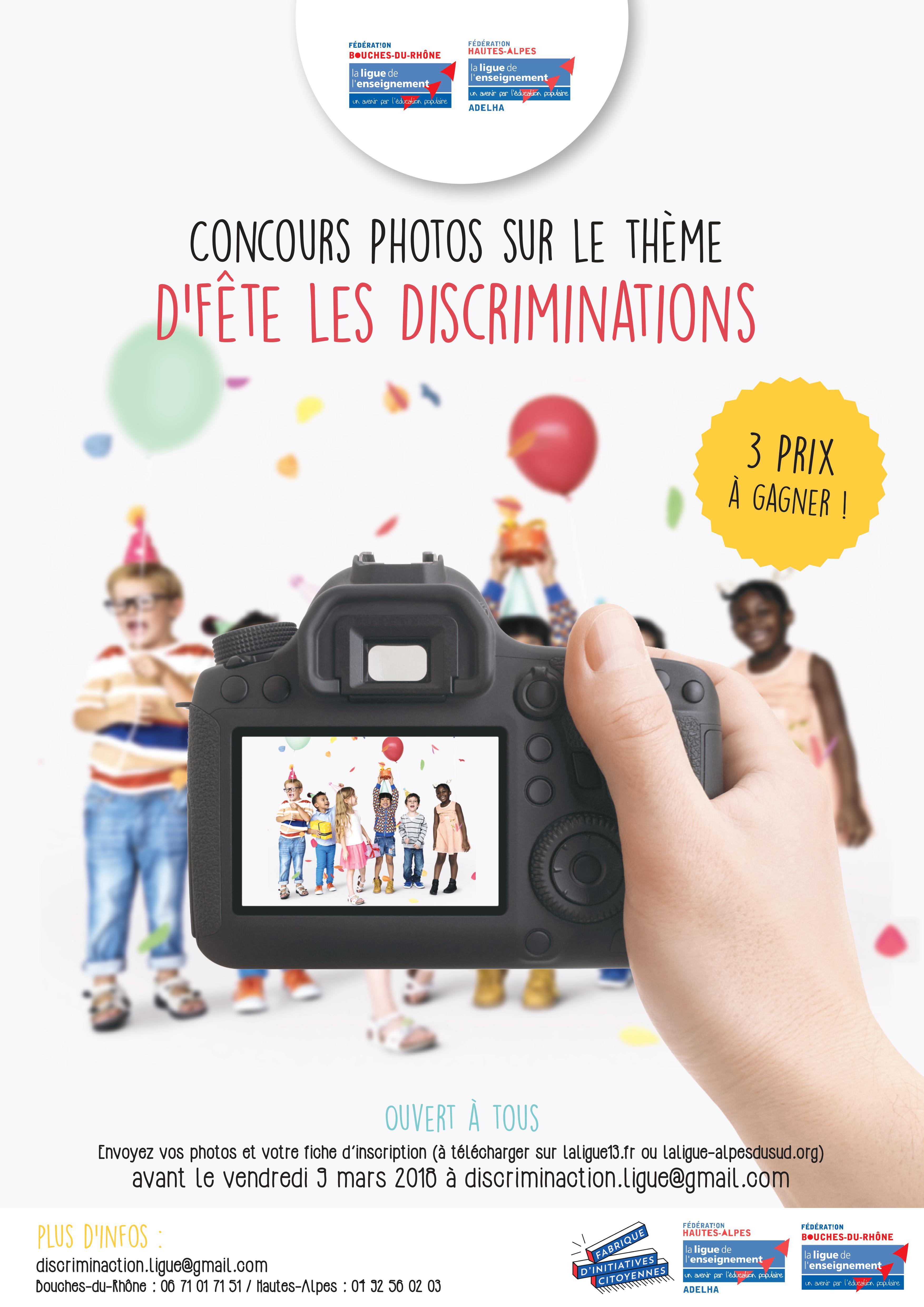 Concours Photos Discrimin'action